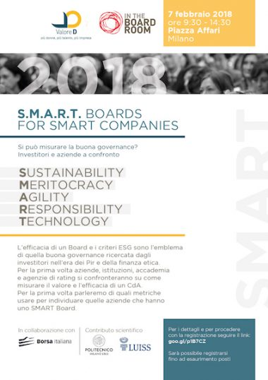 S.M.A.R.T. Boards for Smart Companies 2018