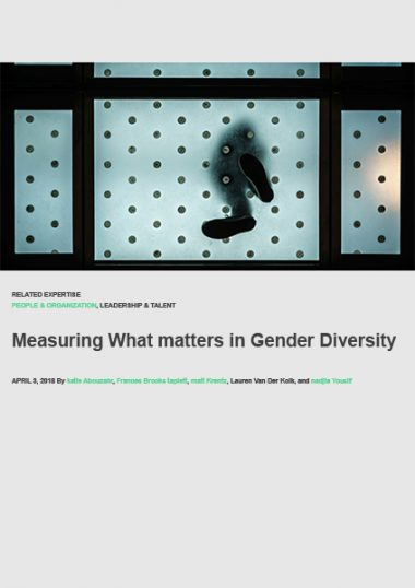 Measuring What Matters In Gender Diversity