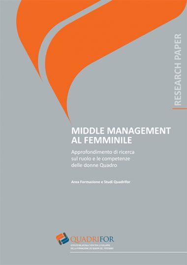 Middle management al femminile