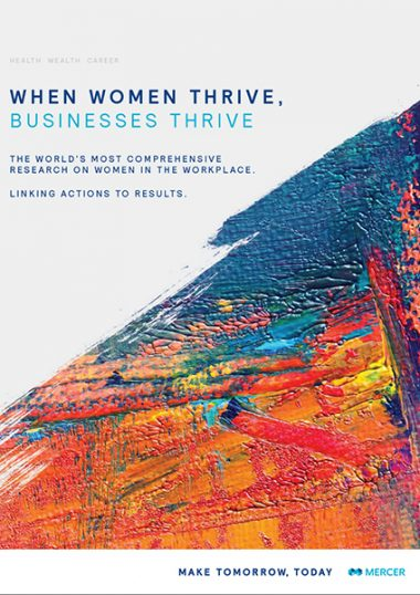 When women thrive, businesses thrive