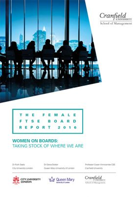 Women on Boards: taking stock on where we are