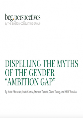 """Dispelling the myths of the gender """"ambition gap"""""""