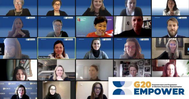 Paola Mascaro, Chair del G20 EMPOWER: accelerare verso la parità di genere nei ruoli di leadership