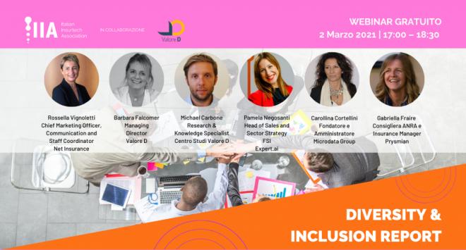 Non esiste innovazione senza diversità: Diversity & Inclusion Report con l'Italian Insurtech Association