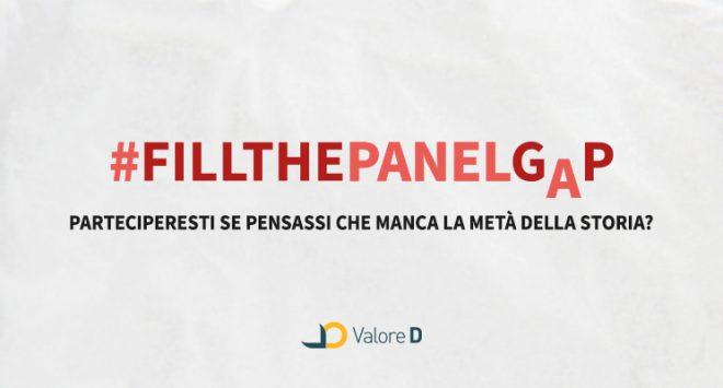 #FillthePanelGap, la campagna digital di Valore D per promuovere la diversità nei panel